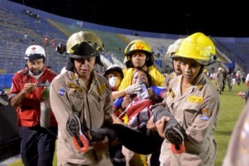disturbios fútbol Honduras