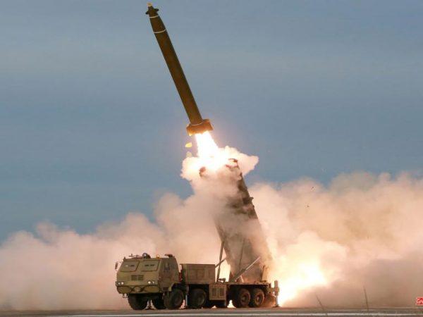 Lanzacohetes Corea del Norte