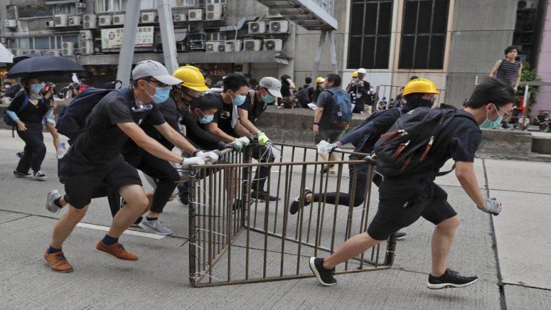 marcha Hong Kong